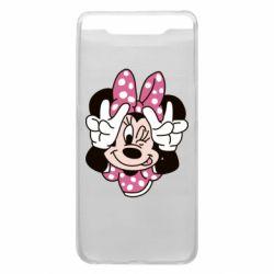 Чохол для Samsung A80 Minnie Mouse