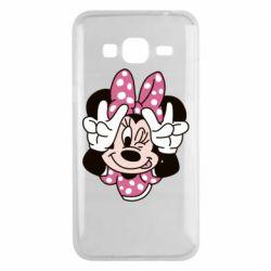 Чохол для Samsung J3 2016 Minnie Mouse