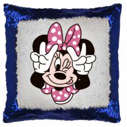 Подушка-хамелеон Minnie Mouse