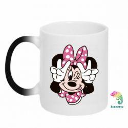 Кружка-хамелеон Minnie Mouse