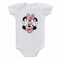 Дитячий бодік Minnie Mouse