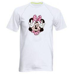 Чоловіча спортивна футболка Minnie Mouse