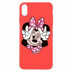 Чохол для iPhone X/Xs Minnie Mouse