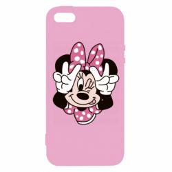 Чохол для iphone 5/5S/SE Minnie Mouse