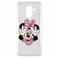 Чохол для Samsung A6+ 2018 Minnie Mouse