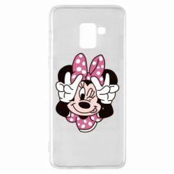 Чохол для Samsung A8+ 2018 Minnie Mouse
