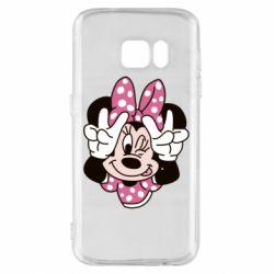 Чохол для Samsung S7 Minnie Mouse