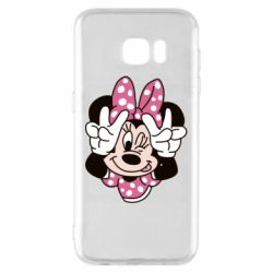 Чохол для Samsung S7 EDGE Minnie Mouse