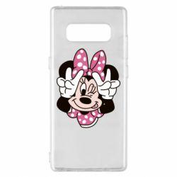 Чохол для Samsung Note 8 Minnie Mouse