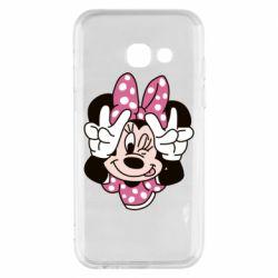 Чохол для Samsung A3 2017 Minnie Mouse
