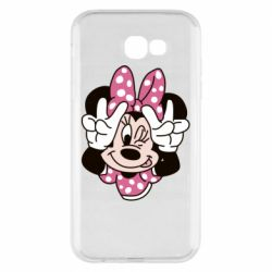Чохол для Samsung A7 2017 Minnie Mouse