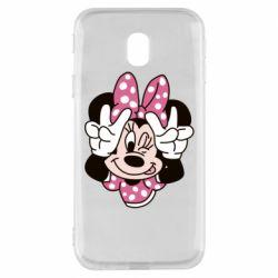 Чохол для Samsung J3 2017 Minnie Mouse