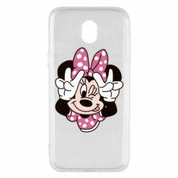 Чохол для Samsung J5 2017 Minnie Mouse