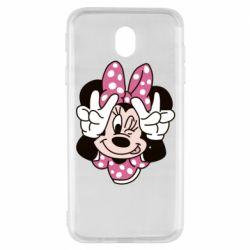 Чохол для Samsung J7 2017 Minnie Mouse