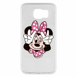 Чохол для Samsung S6 Minnie Mouse