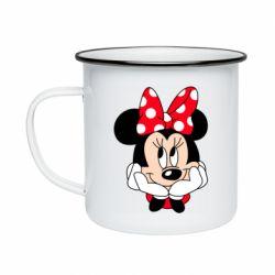 Кружка эмалированная Minnie