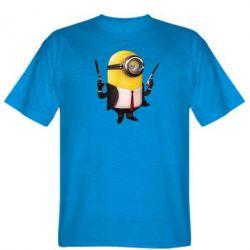 Мужская футболка Миньон Хитман - FatLine