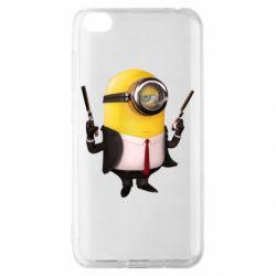 Чехол для Xiaomi Redmi Go Миньон Хитман