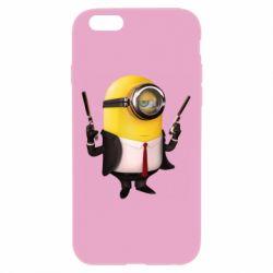 Чехол для iPhone 6 Plus/6S Plus Миньон Хитман