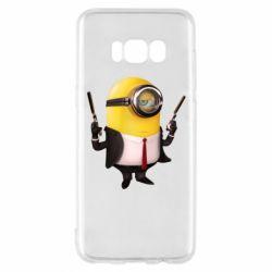 Чехол для Samsung S8 Миньон Хитман