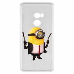 Чехол для Xiaomi Mi Mix 2 Миньон Хитман