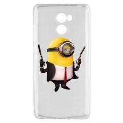 Чехол для Xiaomi Redmi 4 Миньон Хитман