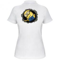 Женская футболка поло Миньон - FatLine