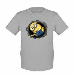Детская футболка Миньон - FatLine