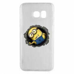 Чохол для Samsung S6 EDGE Миньон