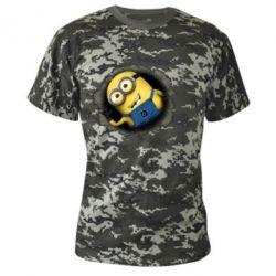 Камуфляжная футболка Миньон - FatLine
