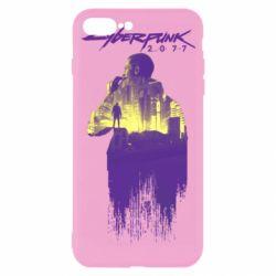 Чехол для iPhone 7 Plus Мир Cyberpunk 2077