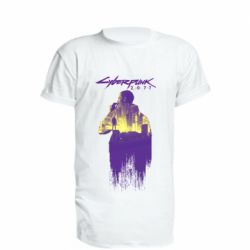 Удлиненная футболка Мир Cyberpunk 2077