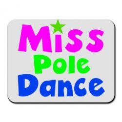 Коврик для мыши Miss Pole Dance - FatLine