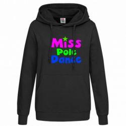 Женская толстовка Miss Pole Dance - FatLine