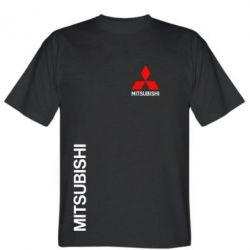 Мужская футболка Mitsubishi Motors logo - FatLine