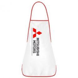 Фартук Mitsubishi Motors лого - FatLine