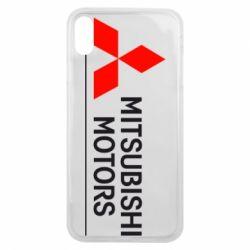 Чехол для iPhone Xs Max Mitsubishi Motors лого