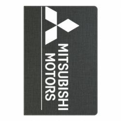 Блокнот А5 Mitsubishi Motors лого