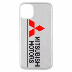 Чехол для iPhone 11 Pro Mitsubishi Motors лого