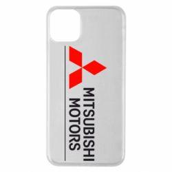 Чехол для iPhone 11 Pro Max Mitsubishi Motors лого