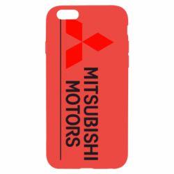 Чехол для iPhone 6 Mitsubishi Motors лого