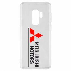 Чехол для Samsung S9+ Mitsubishi Motors лого