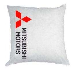 Подушка Mitsubishi Motors лого - FatLine