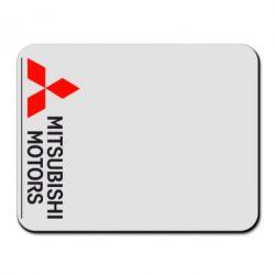 Коврик для мыши Mitsubishi Motors лого - FatLine