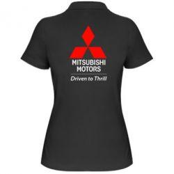 Женская футболка поло Mitsubishi Motors
