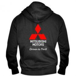 Мужская толстовка на молнии Mitsubishi Motors - FatLine