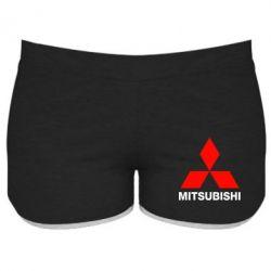 Женские шорты Mitsubishi small - FatLine