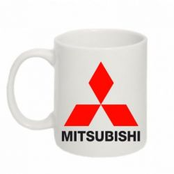 Кружка 320ml Mitsubishi small - FatLine