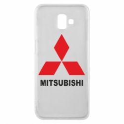 Чехол для Samsung J6 Plus 2018 MITSUBISHI - FatLine