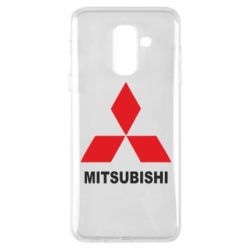 Чехол для Samsung A6+ 2018 MITSUBISHI - FatLine